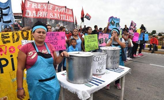 Argentina: organizaciones sociales realizaron bloqueos en todo el país para que se implemente la Emergencia Social