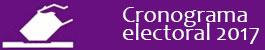 Cronograma Electoral 2017