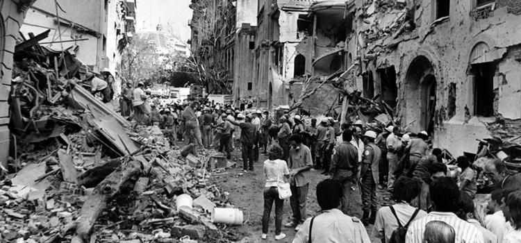 Argentina: con diversas actividades conmemoran 25 años del atentado a la embajada de Israel