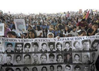 derechos humanos desaparecidos el salvador
