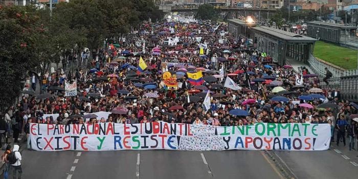Colombia: paro nacional y movilizaciones en todo el país contra el gobierno  de Duque - NODAL