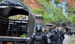Colombia: un muerto y varios heridos tras represión a la