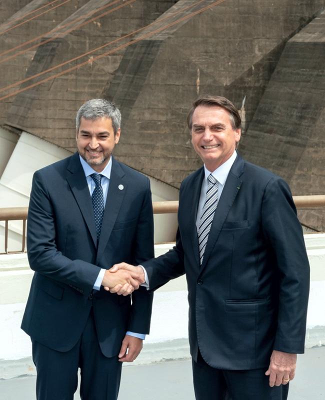 paraguay brasil abdo bolsonaro itaipu
