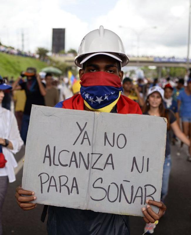 Tapa suple Venezuela economía