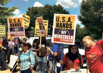 Venezuela Estados Unidos EEUU bloqueo