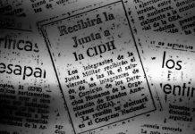 La delegación de la CIDH llegó a Argentina el 6 de septiembre de 1979. Foto Cedoc Perfil