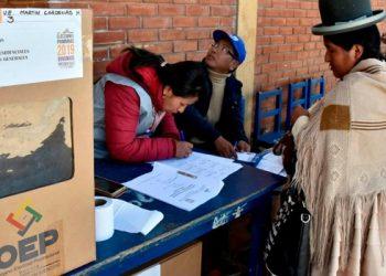 Elecciones en Bolivia 1