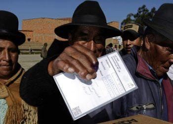 Elecciones en Bolivia 2