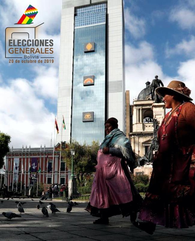 Tapa elecciones en Bolivia