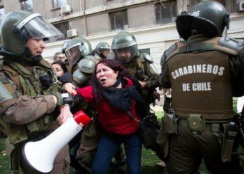 carabineros chile represión