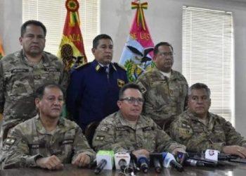bolivia fuerzas armadas