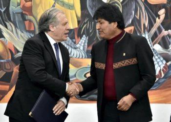 luis almagro evo morales oea bolivia