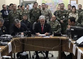 sebastián piñera militares chile