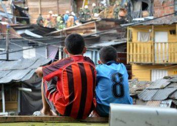 colombia pobreza niñez niños