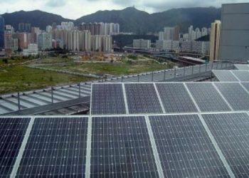 energía solar panel