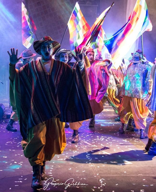 tapa suple carnaval américa latina