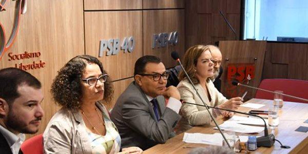 Reunião das lideranças dos partidos de esquerda Humberto Padrera/ PT/Divulgação