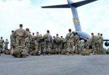 A inicios de este año, soldados estadounidenses estuvieron en la base militar de Tolemaida. Foto: Cortesía Fuerzas Militares de Colombia