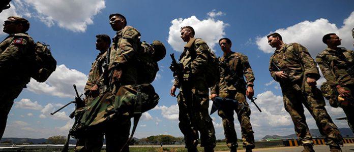 Foto: Paracaidistas de la 82 División Aerotransportada del Ejército de los Estados Unidos hicieron ejercicios militares en la base Tolemaida, en enero pasado.JONATHAN DRAKE / REUTERS