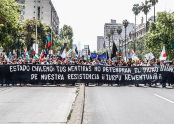 mapuche chile protesta movilización