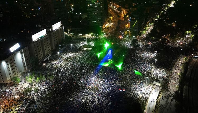 Chile | Una multitud celebró en las calles la aprobación del proceso constituyente