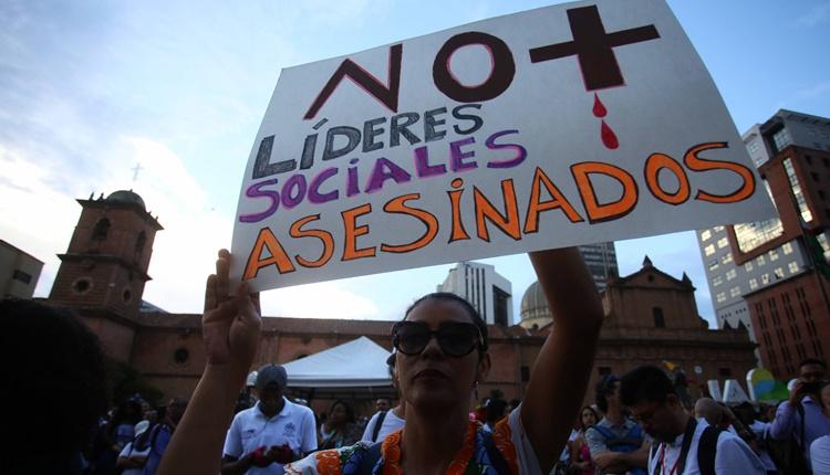 Asesinan a otro líder social en Colombia y ya son 243 en lo que va del año según Indepaz