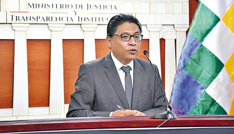 Ministro de Justicia acusa a la OEA y a Almagro de conspirar nuevamente contra la democracia en Bolivia