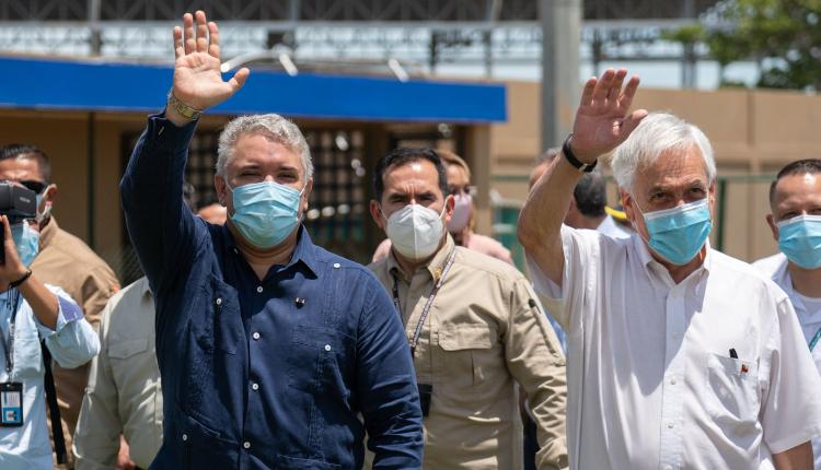 Piñera le expresa a Duque su apoyo a la paz en Colombia y ambos firman acuerdo de extradición