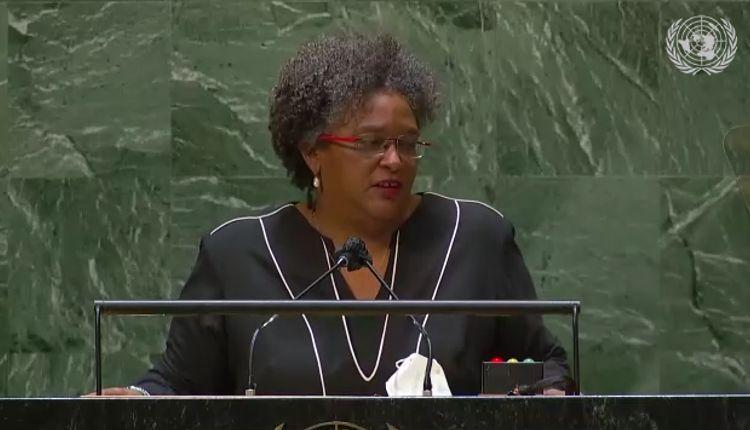 Barbados – Discurso de la primera ministra Mia Amor Mottley en la 76º Asamblea General de la ONU