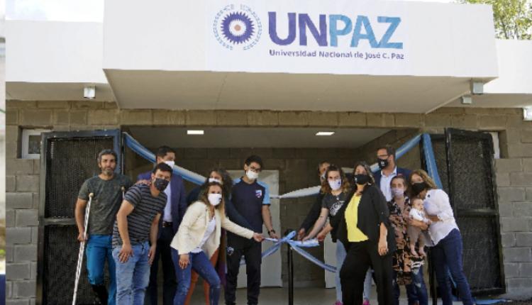 La UNPAZ inauguró los nuevos vestuarios y sanitarios del Playón Deportivo