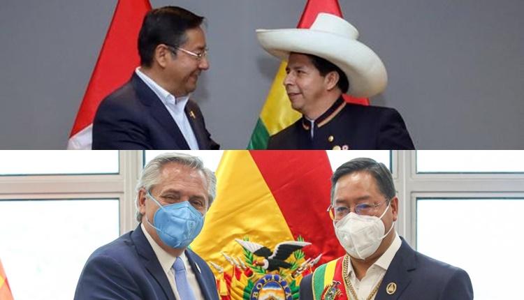Bolivia | Arce se reunirá con Castillo a fines de octubre y con Alberto Fernández en noviembre